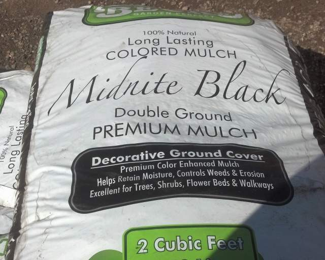 Midnight Black Mulch 2 cu